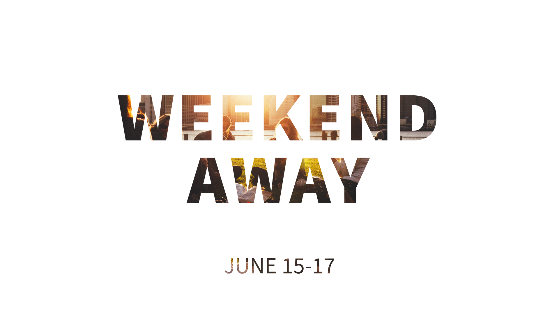 Weekend Away 2018 - The Providence of God